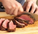 Image of Herb-Crusted Beef Tenderloin Roast with White Wine Cream Sauce