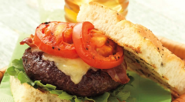 Cabernet Burgers with Rosemary Focaccia Recipe from Weber's Way to ...