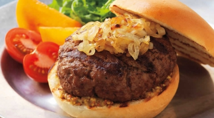 Image of Brie and Shallot Parisian Burgers