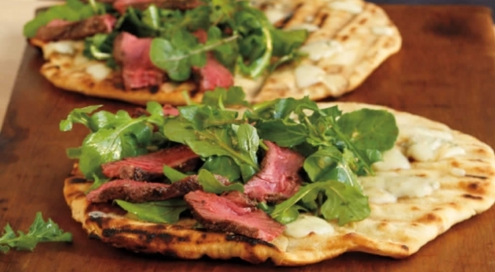 Image of Steak and Gorgonzola Piadini