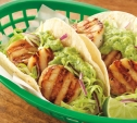 Image of Scallop Tacos with Cabbage Slaw and Avocado Sauce