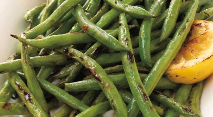 Image of Green Beans with Lemon Oil