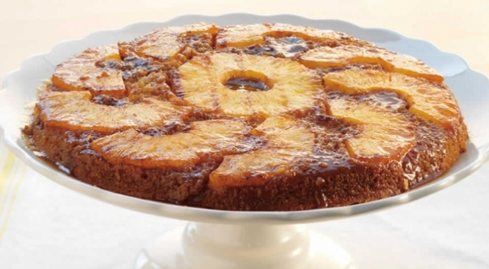 Image of Grilled Pineapple Upside-Down Cake