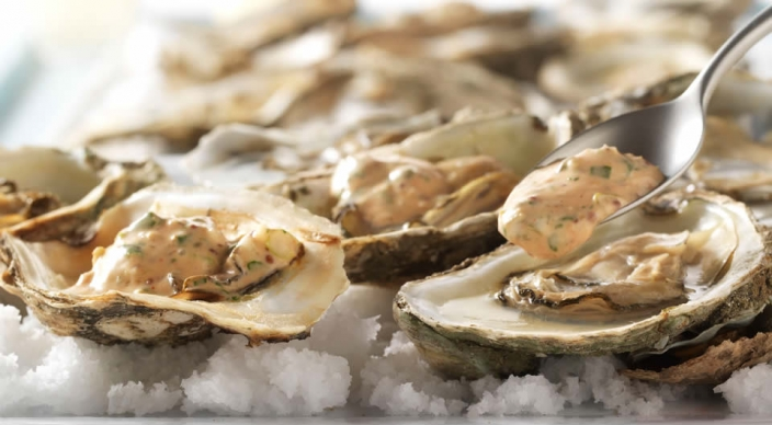Image of Char-Grilled Oysters with Creole Remoulade