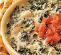 Image of Grilled Artichoke and Spinach Dip with Pita Wedges