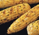 Image of Corn on the Cob with Basil-Parmesan Butter