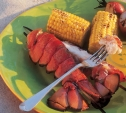 Image of Smoky Lobster Tails and Corn on the Cob