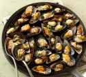 Image of Mussels on the Half Shell with Parmesan and Garlic