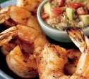 Image of Grilled Shrimp with Mexican Salsa