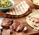Image of Skirt Steak Quesadillas with Guacamole