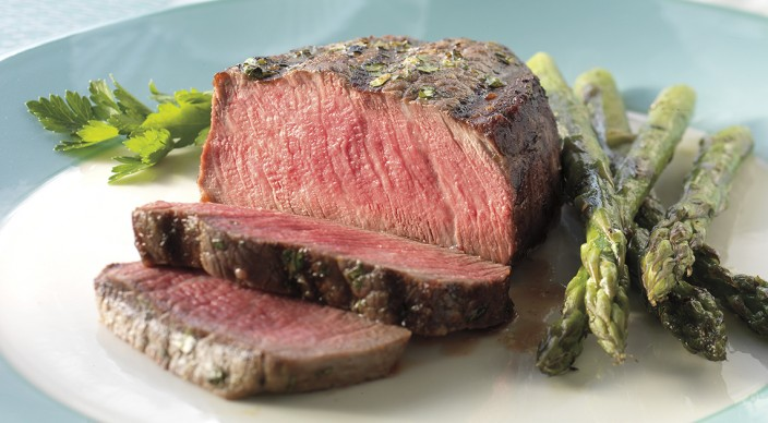 Image result for filet mignon and asparagus