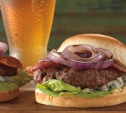 Image of Blue Cheese and Bacon Burgers with Red Onion