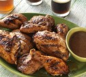 Image of Beer-Marinated Barbecued Chicken