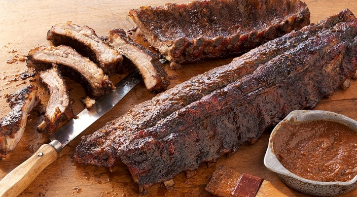 Coffee-Rubbed Ribs with Coffee Barbecue Sauce | Weber.com