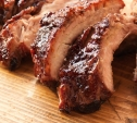 Image of Baby Back Ribs with Pomegranate and Cherry Glaze