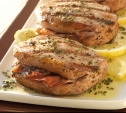Image of Pork Chops with Prosciutto and Sage