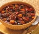 Image of Grilled Chorizo and Black Bean Stew