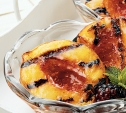 Image of Grilled Peaches with Blackberry Sauce