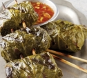 Image of Vietnamese Beef Rolls with Sweet Chili Sauce