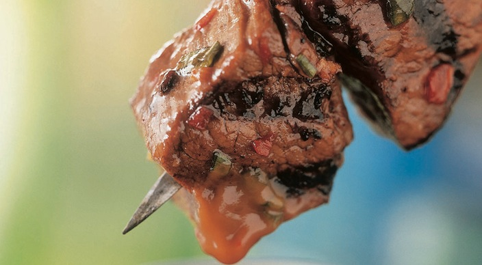 Beef Satay Recipe from Weber's Big Book of Grilling™ by Jamie ...