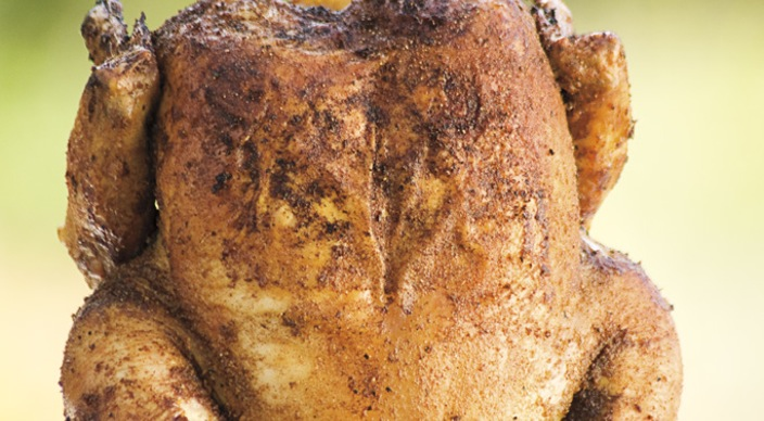 Image of Smoked Beer Can Chicken
